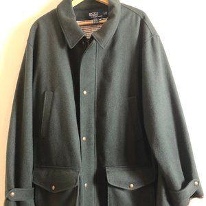 Polo by Ralph Lauren Wool Blend Coat BIG & TALL